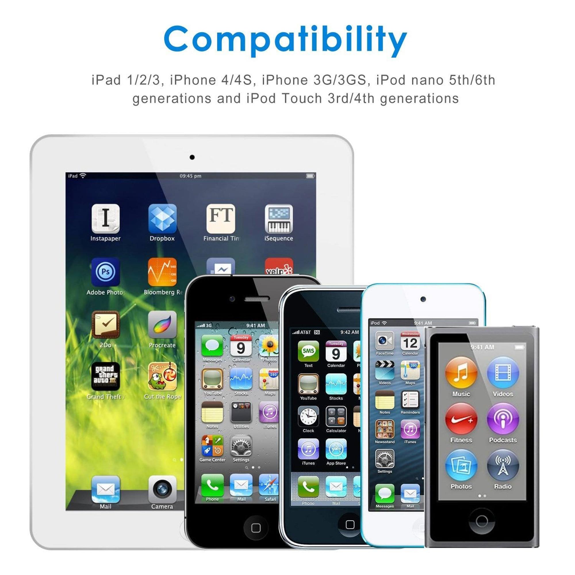 Ipod 1 2 3 4 5 Comparison